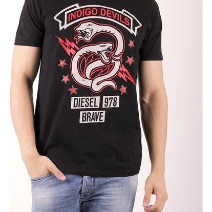 Tričko Diesel T-NEWYN MAGLIETTA Černá