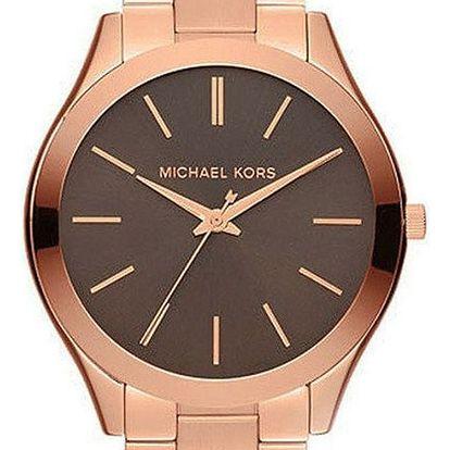 Unisex hodinky v barvě růžového zlata Michael Kors - doprava zdarma!