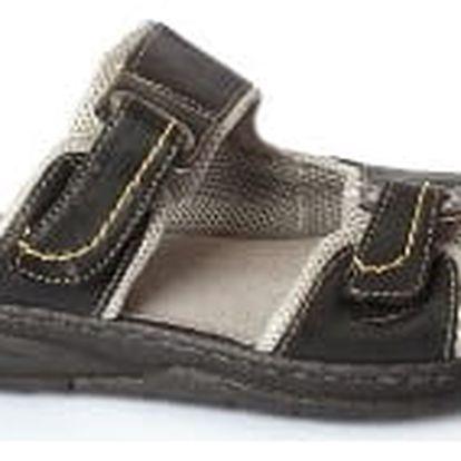 Dámské pantofle MIKOMI černé