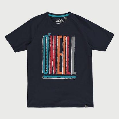 Tričko O´Neill LB Frozen Wave T-Shirt Modrá