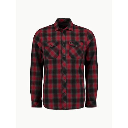 Košile O´Neill LM Violator Flannel Shirt Červená