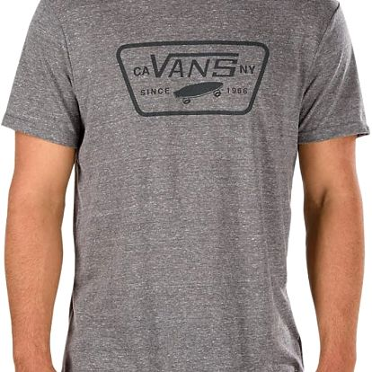 Tričko Vans Triblend Full Patch heather grey L