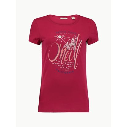 Tričko O´Neill LW Echo Lake Logo T-Shirt Červená