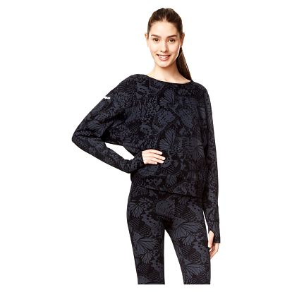 Desigual dámské černé sportovní tričko Longsleeve Tee Yoga