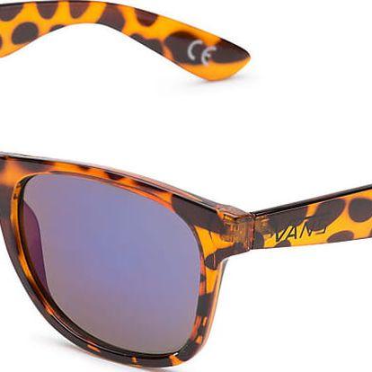 Brýle Vans Spicoli 4 Shade translucent honeytortoise-royal blue mirror