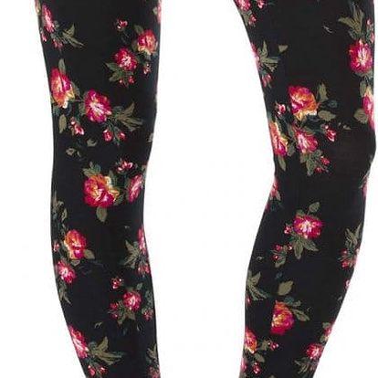 Legíny Vans Yoshimi Legging black roses 26