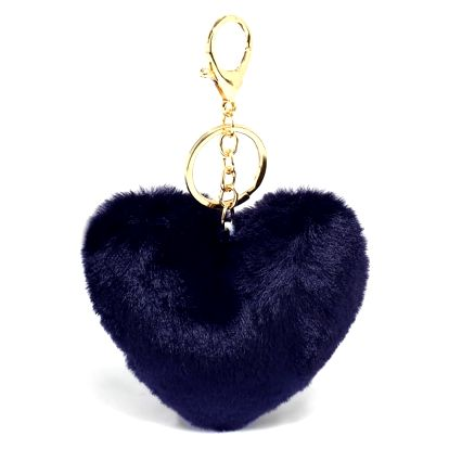Námořnicky modrý přívěšek Heart 1014