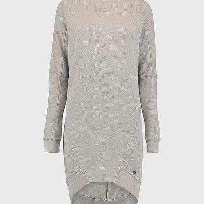 Šaty O´Neill LW Ridgewood Sweatshirt Dress Šedá
