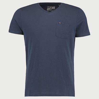 Tričko O´Neill LM JACKS BASE V-NECK T-SHIRT Modrá