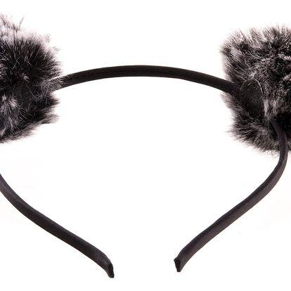 Fashion Icon Čelenka s medvědí ušima dvoubarevné