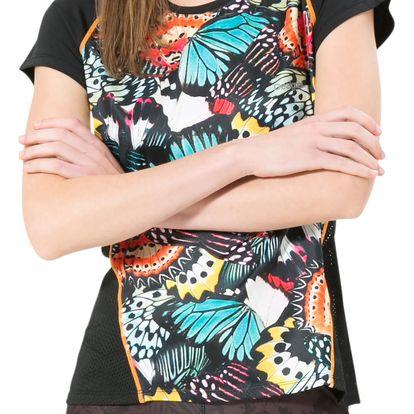 Desigual barevné sportovní tričko Tee Training Metamorphosis