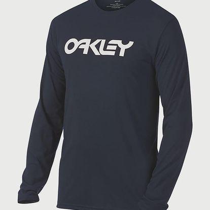 Tričko Oakley 50-Mark Ii L/S Tee Fathom Modrá