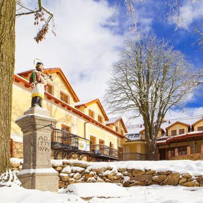 Jižní Čechy s polopenzí a wellness