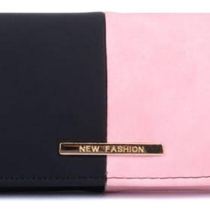 Dámská růžová peněženka Libra 1505