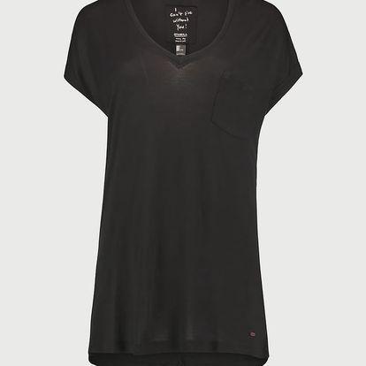 Tričko O´Neill LW Essentials V-Neck T-Shirt Černá