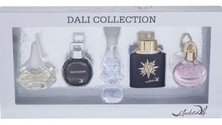 Salvador Dali Mini Set 3 dárková kazeta pro ženy 5x toaletní voda 5 ml - It is Dream + Le Roy Soleil Extreme Pour Homme + Dalilight + Salvador Pour Homme + Dali 2011
