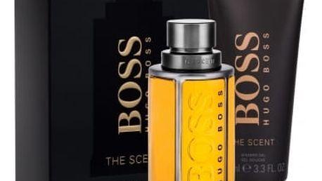 HUGO BOSS Boss The Scent dárková kazeta pro muže toaletní voda 100 ml + sprchový gel 100 ml