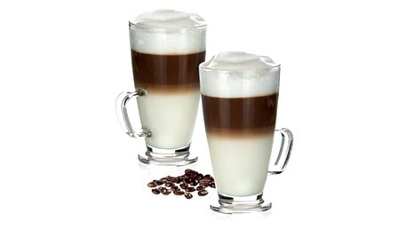 Tecoma Skleněný hrnek latté macchiato CREMA 300 ml. 2 ks