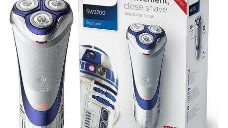 Pánský holicí strojek Philips Star Wars R2D2, SW3700/07