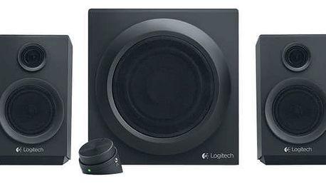 Reproduktory Logitech Z333 2.1 (980-001202) černý