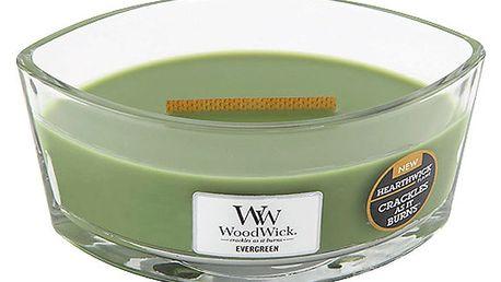 Svíčka s vůní jehličí WoodWick, dobahoření80hodin - doprava zdarma!