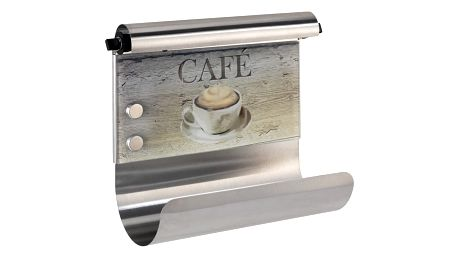 Magnetický držák na utěrky s dávkovačem na fólie Wenko Café - doprava zdarma!