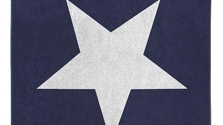 Modrá osuška Seahorse Star,100x180cm - doprava zdarma!