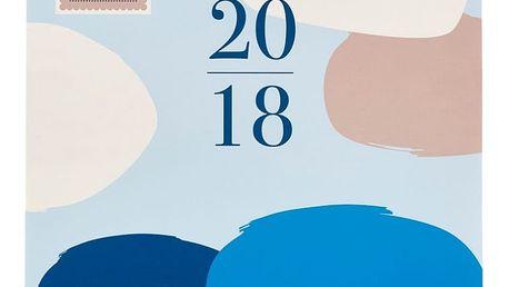 Rodinný kalendář Busy B Contemporary 2018 - doprava zdarma!