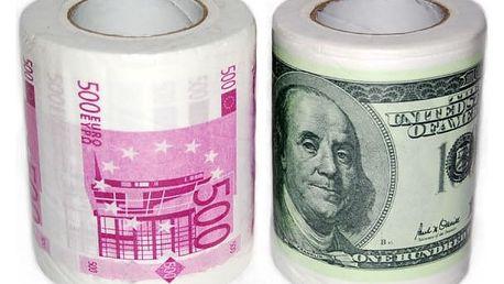 Peníze jako toaletní papír