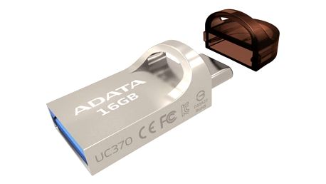 USB Flash ADATA UC370 16GB (AUC370-16G-RGD) zlatý