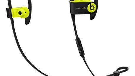 Sluchátka Beats Powerbeats3 Wireless (MNN02ZM/A) černá/žlutá + DOPRAVA ZDARMA