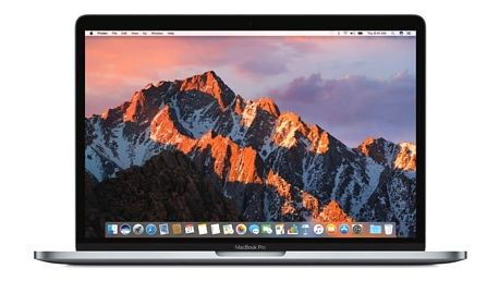 "Notebook Apple 13"" 128 GB - Space Gray (MPXQ2CZ/A) + DOPRAVA ZDARMA"