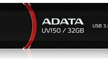 USB Flash ADATA UV150 32GB (AUV150-32G-RBK) černý USB 3.0