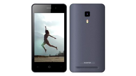 Mobilní telefon Aligator S4080 Dual SIM (AS4080GY) šedý