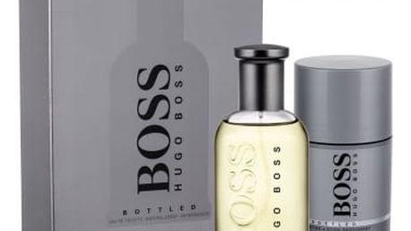 HUGO BOSS Boss Bottled dárková kazeta pro muže toaletní voda 100 ml + deostick 75 ml