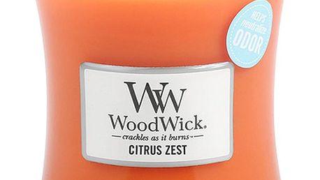 Svíčka s vůní citrusů a květu mandarinky WoodWick, dobahoření60hodin - doprava zdarma!