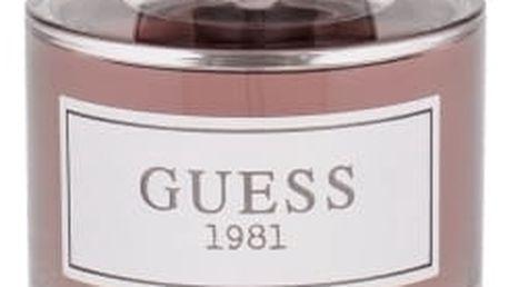 GUESS Guess 1981 For Men 100 ml toaletní voda pro muže