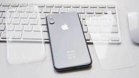 Tvrzené sklo či průhledný obal na iPhone až do řady X