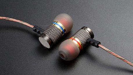 Kvalitní sluchátka KZ acoustics