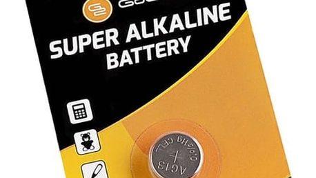 Baterie alkalická GoGEN LR44, blistr 1ks (GOGLR44ALKALINE1) černá/oranžová