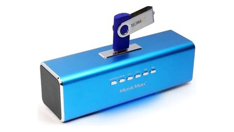 Přenosný reproduktor Technaxx MusicMan (3430) modrý