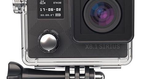 Outdoorová kamera LAMAX X8.1 Sirius + dárek, černá + DOPRAVA ZDARMA