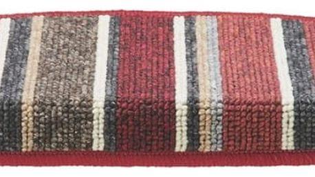 Kobercový nášlap funky stripes, 65/28 cm