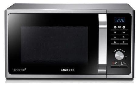 Mikrovlnná trouba Samsung MS23F301TAS/EO černá/stříbrná/nerez