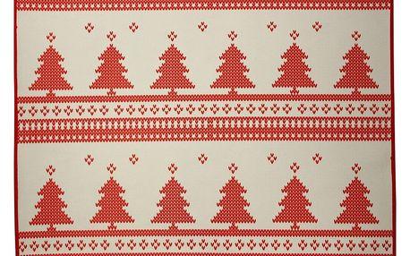 Vánoční prostírání Christmas Knitting - doprava zdarma!
