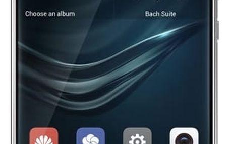 Mobilní telefon Huawei P9 32 GB Dual SIM - stříbrný (SP-P9DSSOM) + DOPRAVA ZDARMA