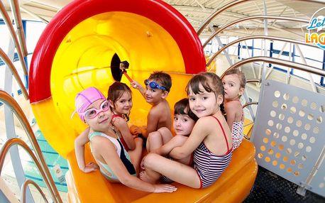 Hurá k vodě: vstupy do letňanského aquacentra