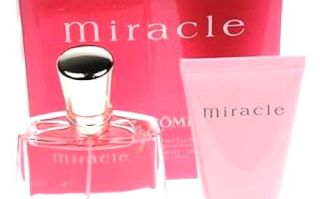 Lancome Miracle EDP dárková sada W - EDP 50 ml + tělové mléko 50 ml