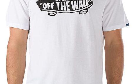 Tričko Vans Otw white-black XXL