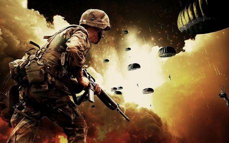 Akční vojenský den pro army fanoušky